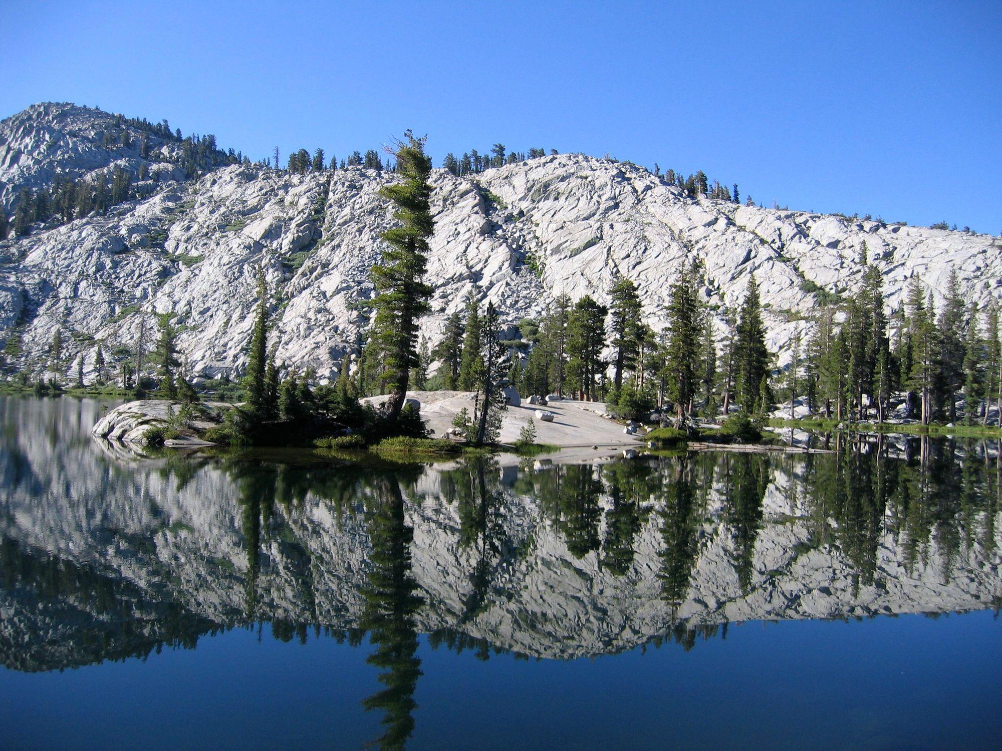 Yosemite Backcountry Lake
